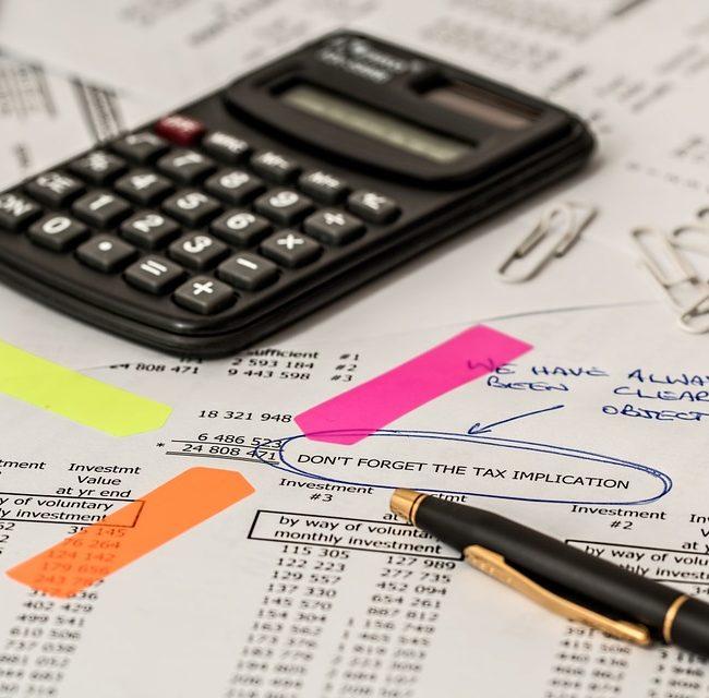 Calculating taxes